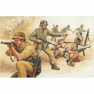 Italeri German Afrika Corps WWII 6076 1:72 Figures