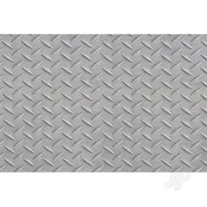 JTT Diamond Plate, 1:100, HO-Scale, (2 per pack)