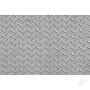 JTT Diamond Plate, 1:16, Live Steam Scale, (2 per pack)