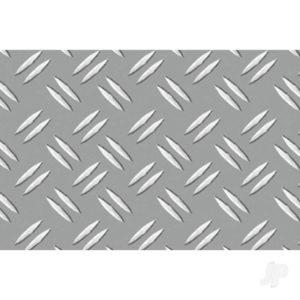 JTT Double Diamond Plate, 1:24, G-Scale, (2 per pack)