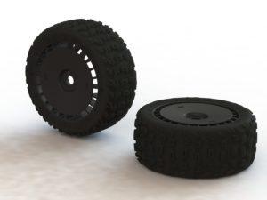 KATAR T 6S Tire/Wheel Set Talion (2)