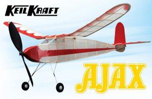 """Keil Kraft Ajax Kit - 30"""" Free-Flight Rubber Duration"""