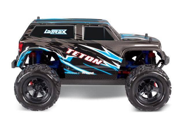 LaTrax Teton 1:18 Scale 4WD Electric Monster Truck BLACK