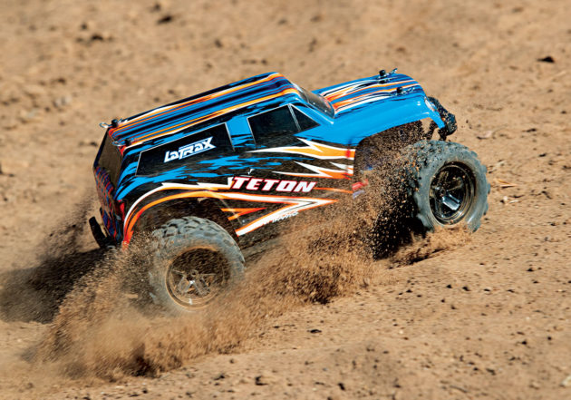 LaTrax Teton 1:18 Scale 4WD Electric Monster Truck BLUE