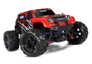 LaTrax Teton 1:18 Scale 4WD Electric Monster Truck RED