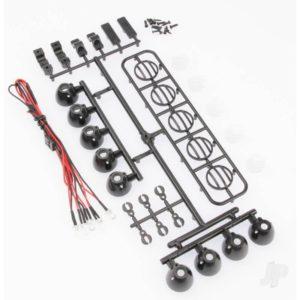 LED Crawler Light Bar Set (5 or 4 Spotlight)