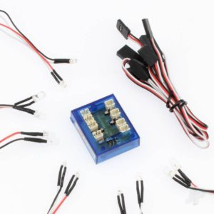 LED Lights For Car With RC Input