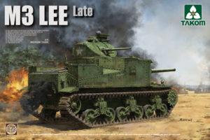 Takom M3 Lee US Medium Tank Late PKTAK02087