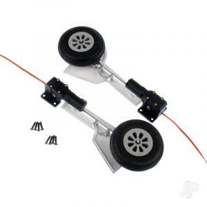 Main Landing Gear Set (Legs + Wheels + Retracts) (P-47)
