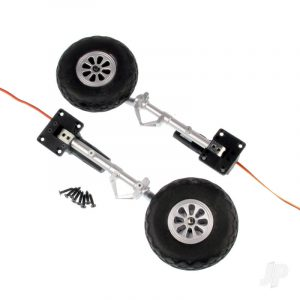 Main Landing Gear Set (Legs + Wheels + Retracts) (P-51)