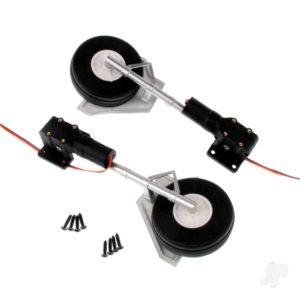 Main Landing Gear Set (Legs + Wheels + Retracts) (T-28)