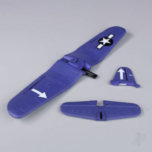 Main Wing and Tail (Painted) (F4U)