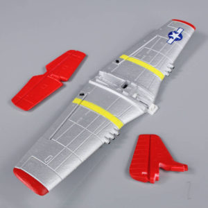 Main Wing and Tail (Painted) (P-51)