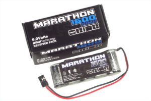 Marathon 1600 Receiver Pack 6.0V Standard NiMH w/Universal Plug