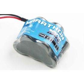 Marathon XL 1900 Receiver Pack Hump NiMH (6.0V) w/Universal Plug
