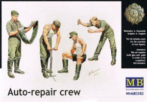 Masterbox 1/35 Auto Repair Crew # 3582