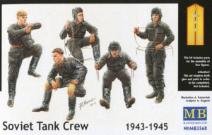Masterbox 1/35 Soviet Tank Crew 1943-1945 # 3568