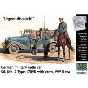 Masterbox 1/35 Urgent dispatch # 35151