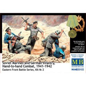 Masterbox Soviet Marines and German Infantry Hand-to-hand