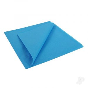 Mediterranean Blue Lightweight Tissue Covering Paper, 50x76cm, (5 Sheets)