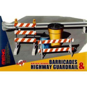 Meng Model 1/35 Barricades & Highway Guardrail # 013