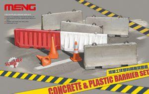 Meng Model 1:35 - Concrete & Plastic Barrier Set