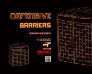 Meng Model 1:35 Defensive Barriers (Resin) MNGSPS-032