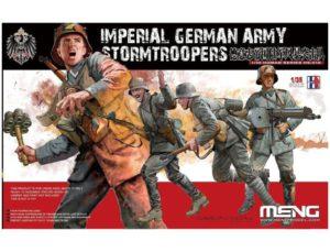 Meng Model 1:35 - Imperial German Army Stormtroopers