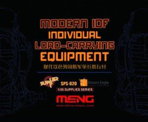 Meng Model 1:35 - Modern IDF Individual Load-Carrying Equipment (Resin)