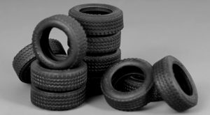 Meng Model 1:35 - Tyres for Vehicles & Diorama (4pcs)