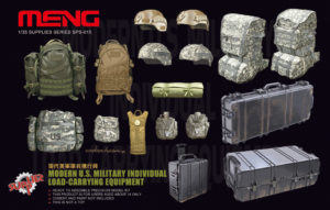 Meng Model Modern US Military Individual Load Carrying Equipment