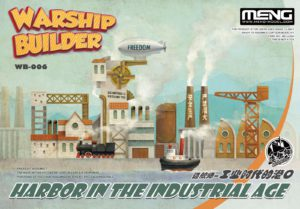 Meng Model Warship Builder - Harbor in the Industrial Age