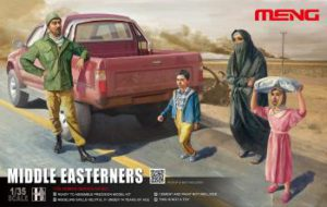 Meng Model 1:35 - Middle Easterners in Street