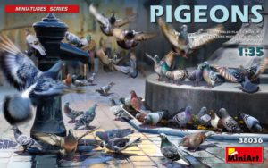 Miniart 1/35 Pigeons # 38036