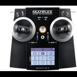 Multiplex COCKPIT SX 9 Set including RX-9-DR M-LINK