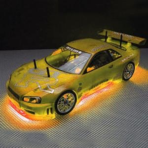 Neon Undercar Lighting Kit - Orange