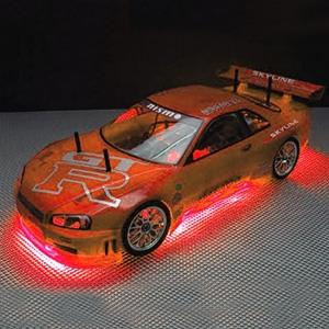 Neon Undercar Lighting Kit - Red