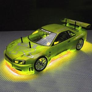 Neon Undercar Lighting Kit - Yellow