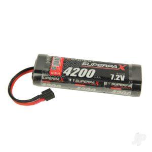 Radient NiMH 7.2V 4200mAh SC Stick, Deans (HCT)