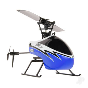 Ninja 250 Helicopter with Co-Pilot Assist, 6-Axis Stabilisation and Altitude Hold (Blue)