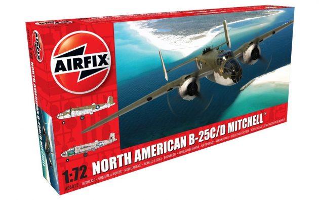 North American B25C/D Mitchell 1:72