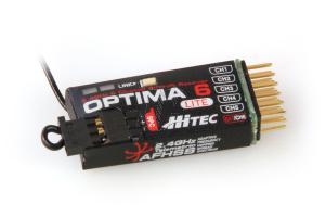 OPTIMA 6 LITE AFHSS Rx BAT. TELEMETRY F/RANGE