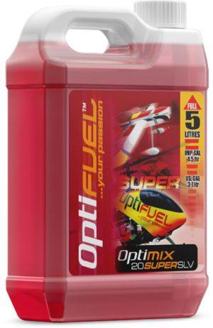 OPTIMIX 20% SUPER SLV 5 LITRES AERO AND HELI FUEL
