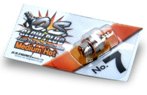 O.S. Glowplug No.7 (Medium/Hot)