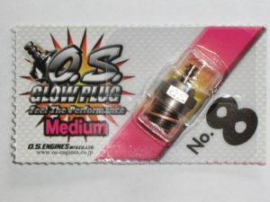 OS 8  Glowplug No.8 (Medium) 20%