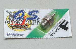 O.S. Glowplug Type F (hot)
