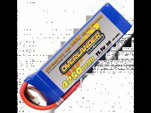 Overlander 4250mah 3s 11.1v 35C LiPo Battery