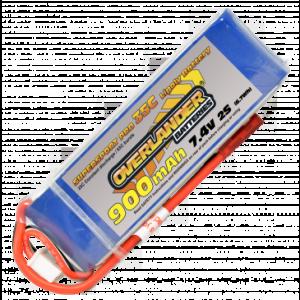 Overlander 900mAh 7.4V LiPo Battery fits Blade 200SRX