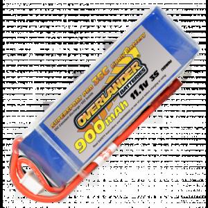 Overlander Supersport 900 3S 11.1v 35C LiPo Battery
