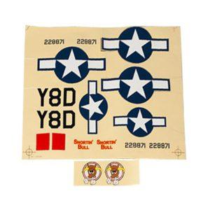 P-47 Decal Sheet PKZ5321